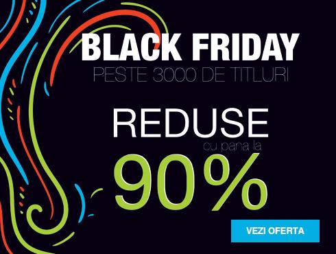 Carti Black Friday - reduceri de pana la 90%